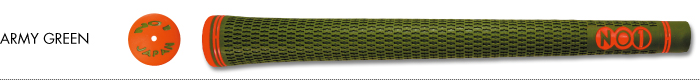NO1 GRIP 50 SERIES ARMY GREEN